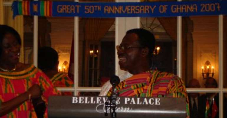 Ghana's 50th Anniversary Celebrated in Switzerland and Austria